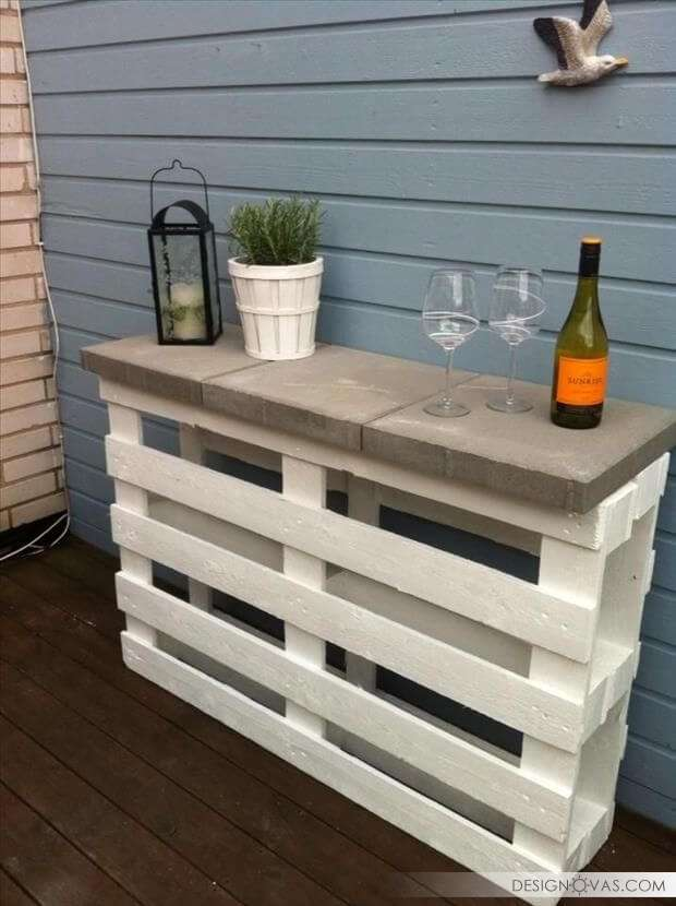 how to use pallets in garden