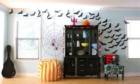 украшение квартиры на хеллоуин