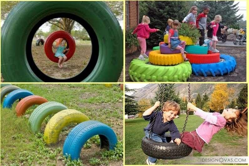 Что можно сделать на детской площадке своими руками