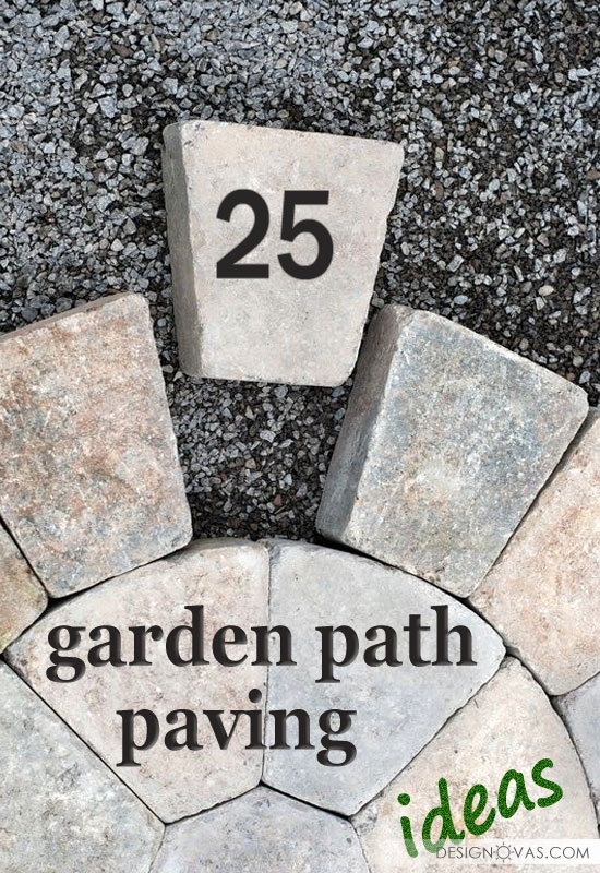 garden path paving diy