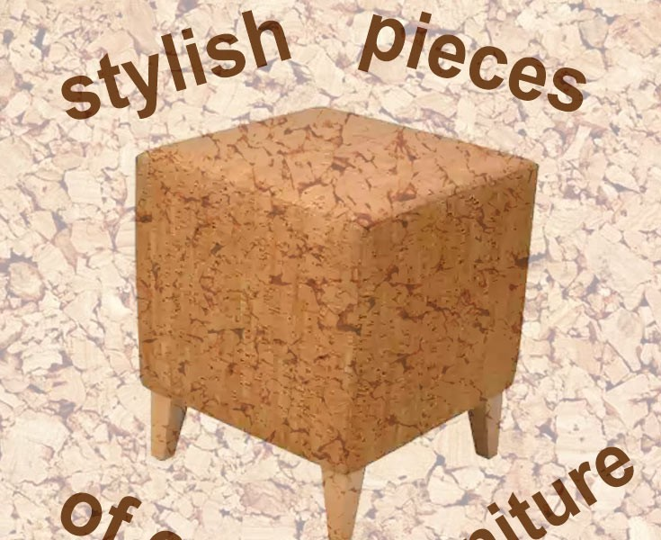 cork furniture. 25 Stylish Pieces Of Modern Cork Furniture ⋆ Cool Home And Interior Design Ideas | Design*vas