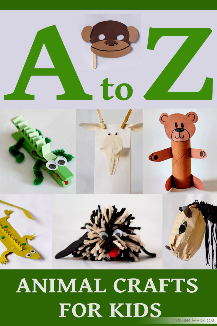 26 Animal Crafts You Can Make With Your Kids Cool Home