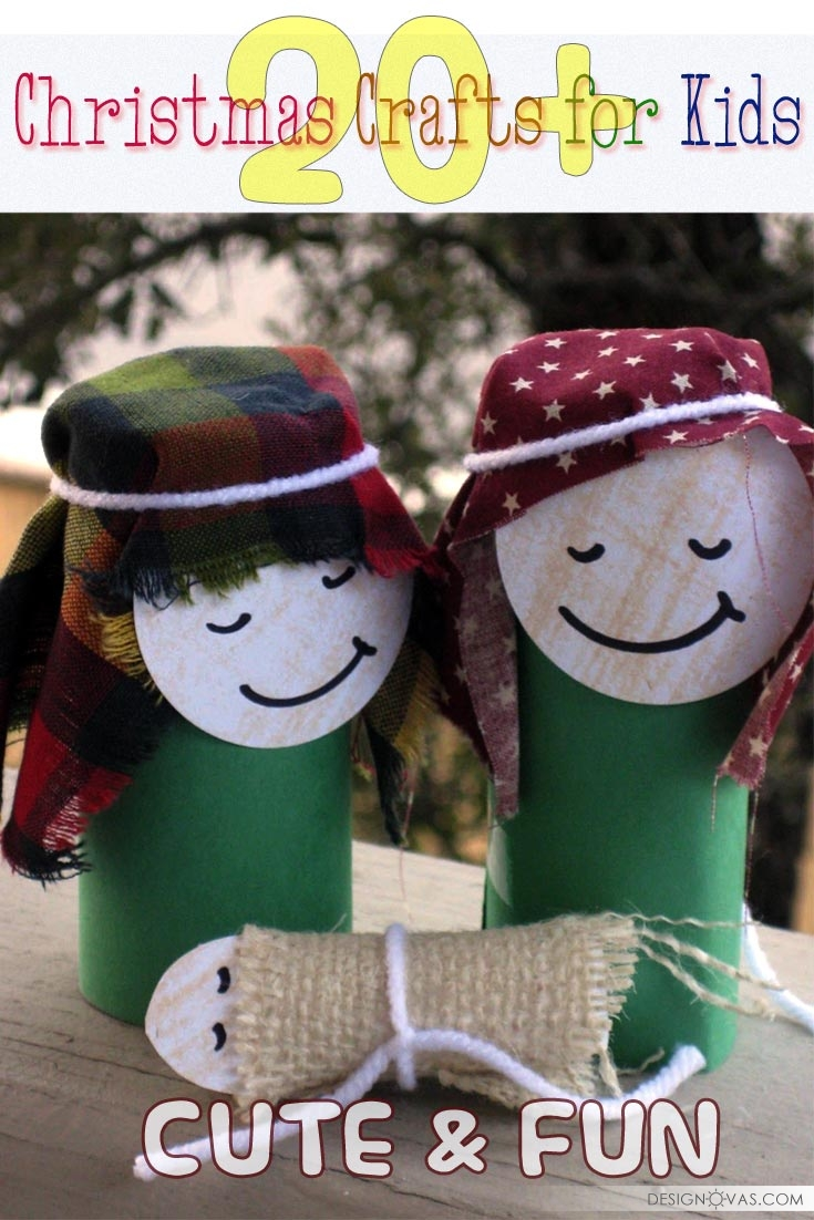 20 Cute And Fun Christmas Crafts For Kids Cool Home And Interior