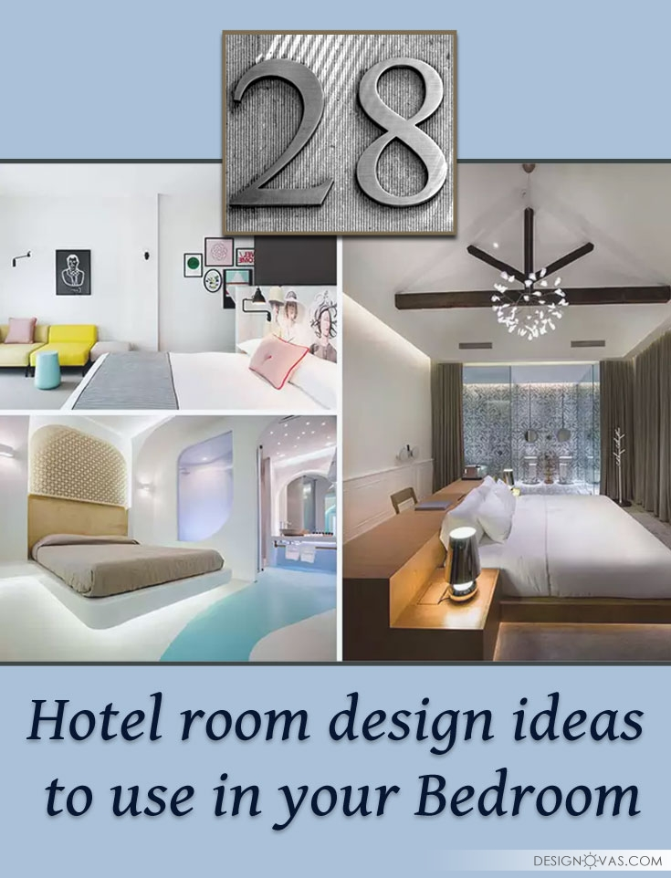28 Hotel room design ideas to use in your Bedroom ⋆ Cool home and ...