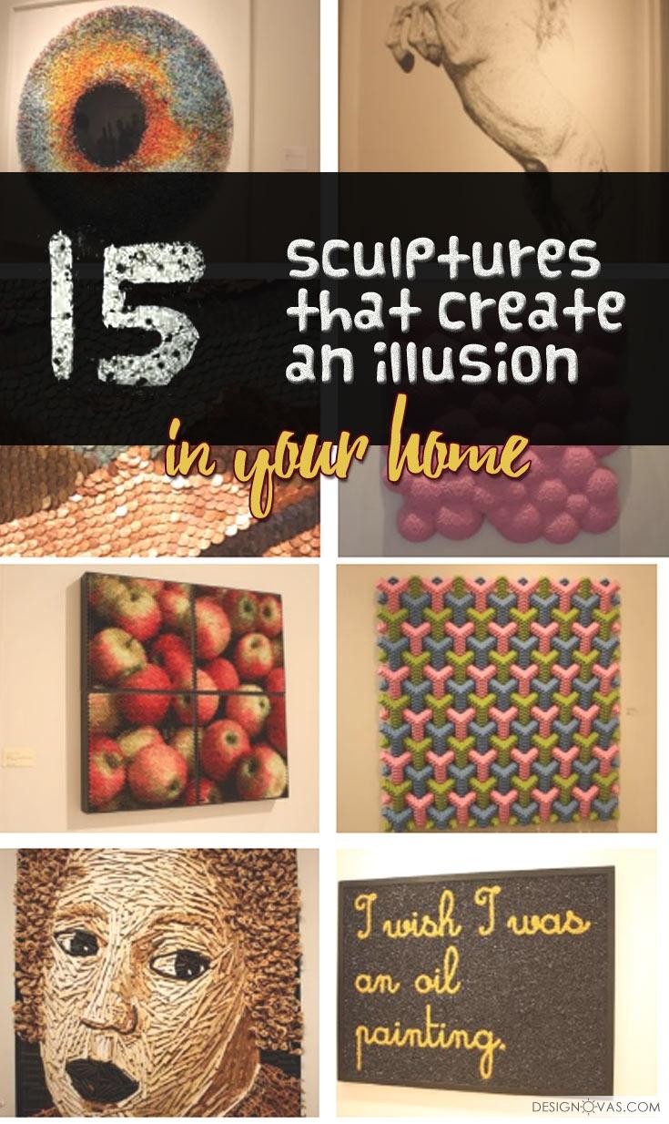 sculptures illusion